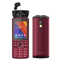 сотовые телефоны gsm оптовых-SERVO R25 2,8-дюймовый ЖК-мобильный телефон Dual SIM-карта с Bluetooth 5.0 TWS Беспроводные наушники 6000mAh Power Bank 2G GSM разблокирована FM сотовый телефон