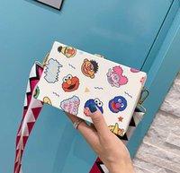 bolsas de embalaje de dibujos animados al por mayor-Bolsos de las señoras de lujo diseñador de los bolsos del monedero de las mujeres del bolso de hombro El diseñador del bolso femenino encantador Cruzado Bolsas Paquete de la caja linda de la historieta