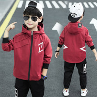 Wholesale old clothes for boys for sale - Group buy 2019 New Children Boys Spring Casual Sports Jacket Fashion Windproof Boys Jacket For Year Old Boy Coats Kid Clothes