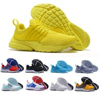 Wholesale top brand shoes boots for sale - Group buy Top Fashion Presto Running Shoes Men Women Ultra BR QS Yellow Pink Prestos Black White Red Outdoor Jogging Brand Mens Trainers Sneakers
