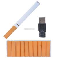 cigarro usb recarregável venda por atacado-Cigarro eletrônico Novo V9 Saúde Eletrônico Cigarro Com Blister Kit USB Recarregável Ambiental E cigaretenew