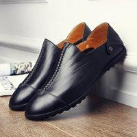 ingrosso scarpe da uomo straniero-scarpe casual singoli uomini transfrontalieri commercio estero all'ingrosso 2020 scarpe da guida autunno nuovo set piede pattini pigri degli uomini di moda