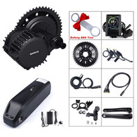 Mid motor 68mm BBSHD 52V 1000W Mid Drive Motor Electric Bicycle ebike Conversion Kit with 52V 14Ah Battery Built in Samsung Cells