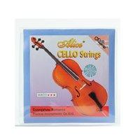 ingrosso corde del violoncello-NAOMI Alice Set di corde per violoncello Violoncello per corde Nickel Silver Wound Per 4/4 Violoncello Nuovo