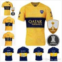 Wholesale free football uniforms resale online - 2019 new Boca Juniors Home Blue Soccer Jersey Boca Juniors Away White Soccer Shirt new Football Uniforms Sales shirt