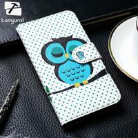 ingrosso casi per lumia-cover TAOYUXI Custodie in pelle PU per okia Lumia 430 N430 535 N535 610 N610 640 N640 New Fashion Phone