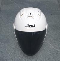 capacete integral preto vermelho venda por atacado-modelo explosão ARAI R3 motocicleta capacete meio capacete pintado capacete da motocicleta motocross