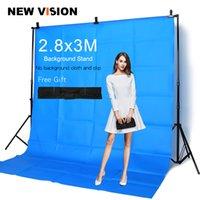 backdrop unterstützt groihandel-Freeshipping Professinal Fotografie 2,8m * 3m Hintergrund stehen Hintergrundsystem mit Tragetasche + Free DHL