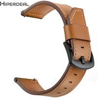 Wholesale replacement leather watch straps for sale - Group buy HIPERDEAL Smart Accessories MM Wrist Strap Replacement Watch Wristband Leather Strap Band For AMAZFIT GTR Smart Watch MM