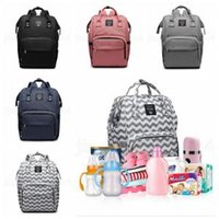 Wholesale mummy set online - Mummy Backpacks Styles Baby Nappy Diaper Backpack Multifunction Large Capacity Portable Mother Maternity Storage Bags OOA6159