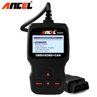 разъемы x431 bmw оптовых-Сканер Ансель AD310 OBD2 автомобилей Инструмент OBD 2 Code Reader сканер инструмент лучше, чем ELM327 Automotive Auto Diagnostic