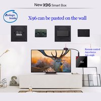 Wholesale X96W Android TV Box Amlogic S905W CPU Support Bluetooth GHz WiFi K H GB RAM GB ROM TV Set top box Screen Mirroring Adapter