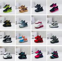bebek çocukları boş zamanları toptan satış-Ayakkabı 72c Yastık Casual Ayakkabı Koşu Çocuklar Erkekler Kızlar Serbest zaman etkinlikleri Sneakers Gençlik Çocuk bebek Koşu nefes Running