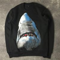 pull assassins assassins achat en gros de-Sweat à capuche de luxe de la mode d'impression de haute qualité Shark Hommes Femmes Sweats à capuche unisexe à manches longues Sweats à capuche Designer