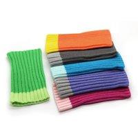 capa de lã do iphone venda por atacado-100 pçs / lote colorido bolsa de malote de malha meia de lã bolsa para iphone 8 plus 7 plus iphone 6 plus 5.5 polegadas