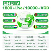 Wholesale arabic android tv resale online - QHDTV Code Year French Arabic Netherlands African Spanish QHDTV Abonnement France Subscription For Android Smart TV