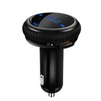 ingrosso locatore di carte-Auto MP3 Trasmettitore FM APP GPS Car Finder Locator Kit Bluetooth Music Player 2 USB della carta del caricatore di sostegno U Disk / TF