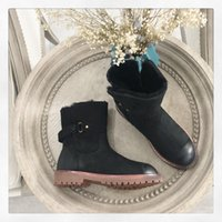Wholesale snow boots price for sale - Group buy Top quality good price original designed short snow boots brand ankle boots luxury boots made by lamb skin