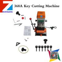 mejores máquinas de corte clave al por mayor-El mejor amigo de cerrajería Herramientas Clave del equipo de corte 368A clave duplicada Máquina de cerrajería Herramientas 200W