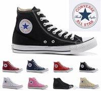 yetişkin spor ayakkabıları toptan satış-2019 size35-45 Yeni Unisex Düşük Üst Yüksek Top Yetişkin kadın erkek yıldız Kanvas Ayakkabılar 13 renkler Bağcıklı Kadar Rahat Ayakkabı Sneaker ayakkabı perakende