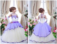 Wholesale christening clothes for kids resale online - Flower Girl Dress for Wedding Birthday Party Girls Dresses Children s Costume Teenage Girls Kids Summer Clothes