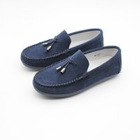 Wholesale loafers shoes for boys resale online - Little Kids Penny Loafers Flat Heel Slip On Toddler s Shoes for Boys Causal Comfortable Suede Leather Loafers Shoes Flats