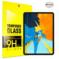 tabletas de vidrio templado al por mayor-Tablet Glass For iPad Pro 11inch 10.5inch 2019 Mini5 Samsung T585 T385 Protector de pantalla Protector de vidrio templado Film para iPad aire 2 en caja
