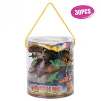 детская форма оптовых-Набор игрушек динозавр модель животных моделирование плесень набор игрушек раннего образования животных игрушки подарок на День Рождения для детей Дети