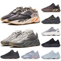 neueste v2 großhandel-Adidas yeezy boost 700 Gucci Vanta Wave Runner für Männer Frauen Static 3M reflektierende Mauve Multi Solid Grey Herren Trainer Mode Sport Sneakers Größe 5-11.5chuhe aus 36-45