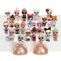 ingrosso palle di sorpresa-Fashion New New Kids Bambini Set di LOL Surprise Dolls Series Ball Outrageous Little Mystery Pack Moda bambini Giocattoli