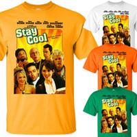 calças vermelhas camisas amarelas venda por atacado-Fique legal V2, cartaz do filme, Chevy Chase, 2009 camiseta YELLOW todos os tamanhos S-5XL branco preto cinza calças vermelhas tshirt