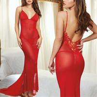 Wholesale porn women costume online - Women Sexy Porn Erotic Lingerie Nightwear Babydoll Underwear Sleepwear Pajamas Dress Baby Doll Sexy Lingerie Hot Erotic Costumes