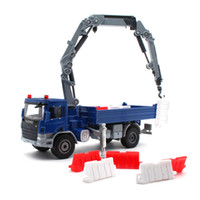 model vinçler oyuncaklar toptan satış-KDW 1:50 Alaşım araba modeli Döküm vinç Inşaat araç Koleksiyonu dekorasyon çocuk oyuncakları çocuklar için Hediye