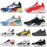 Wholesale man toys for sale - Group buy RS X Hasbro Running Shoes Women Men Chaussures TOYS Reinvention Transformers Black Gold Mens Trainers Sports Sneakers
