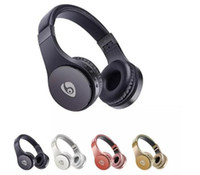 Wireless Headphone Stereo Bluetooth Headsets Earbuds Support TF Card For Phone 1pc Factory Price