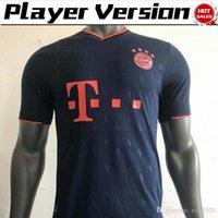 ingrosso vendite camicia da calcio-2020 Versione lettore Bayern Monaco terze maglie di calcio # 9 LEWANDOWSKI # 25 MULLER camice di calcio Bayern Uniformi terzo calcio su vendita