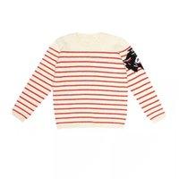 ingrosso ragazzi maglia maglione modello-2019 New SpringAutumn Striped Sweater Top in lana per bambinaBoy Kids maglioni lavorati a maglia Maglieria Tiger Pattern Top