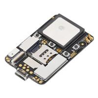 Wholesale card locator online – New ZX808 PCBA GPS Tracker GSM GPS Wifi LBS Locator SOS Alarm Web APP Tracking TF Card Dual System