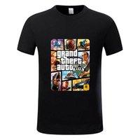 robo de auto al por mayor-Grand Theft Auto GTA Camiseta Hombre Street Long con GTA 5 Camiseta Hombre y Mujer Marca de fábrica famosa Camiseta para niños Tops Camisetas