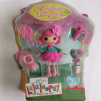 Wholesale lalaloopsy dolls resale online - New Arrival Inch Original MGA Lalaloopsy Dolls and Accessories Packaged With the Box For Girl s Toy Playhouse Each