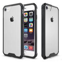 iphone air 5.5 al por mayor-Plástico duro + Funda transparente de TPU suave Marco de silicona TPU de 5.5