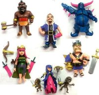Wholesale big toy garage for sale - Group buy New garage kit PVC Toy Action Figure Doll ornaments