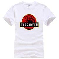 más el tamaño de la novedad camisetas al por mayor-Dracarys Dragon camiseta algodón hombre venta caliente Homme Top ropa deportiva talla grande novedad manga corta camiseta de moda