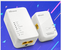 Wholesale Wireless WiFi Coverage Power Line Repeater M Wire Carrier PLC Adapter Set