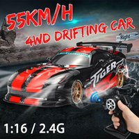 Wholesale 2 G RC Car KM H High Speed WD Off Road Drifting Control Racing Cars Remote Control Vehicle Toys Gift