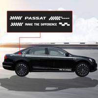 autocolantes para automóveis venda por atacado-Adesivos de carro Side Body Decalque Gráfico e Palavras Auto-adesivo Decoração DIY Etiqueta Para Volkswagen Passat
