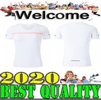 chaleco blanco para correr al por mayor-Mejor calidad Camiseta de manga corta para mujer 3 colores Blanco negro verde Chaleco de entrenamiento Ropa de ejercicio Correr Correr Tamaño S-XL