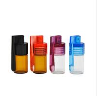 flaschenhersteller groihandel-Hersteller Direktverkauf Glas Kleine Aufbewahrungsbox Portable Glass Storage Bottle