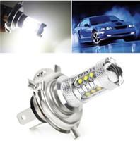 lâmpadas led frente venda por atacado-H4 80W LED Nevoeiro High Power Car Light LED nevoeiro dianteiros Faróis Nevoeiro Driving Lamp lâmpadas de carro Faróis KKA5956