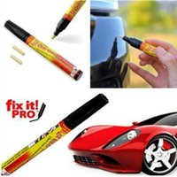 Wholesale remove scratches car pen online - Fix it PRO Car Coat Scratch Cover Remove Painting Pen Car Scratch Repair for Simoniz Clear Pens Care Products Opp Package CCA11049